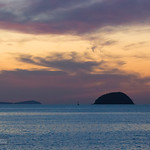 Sunrise at Chalong Bay, Phuket island, Thailand thumbnail