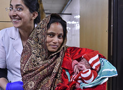 PHOTO OF THE WEEK: 7 January 2019 (UNICEF HQ) Tags: india unicef human rights child united nations survival trained health personnel infant mother birth newborn