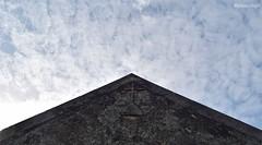 Capilla (elwandajo) Tags: hacienda fantasma real de salinas campeche mexico ruinas ex capolla cruz nubes cielo elwandajo abandonada