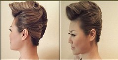 Sweet Punk Hairstyle for Women (TrendVogue) Tags: trendvogue net fashion trend vogue style beauty celebrity food health life sex love wedding models mode girl parties ready to wear week designers cat walk