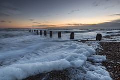 Suds (Through Bri`s Lens) Tags: sussex shorehambysea beach foam groynes shingle brianspicer canon5dmk3 canon1635f4 hy very frothy