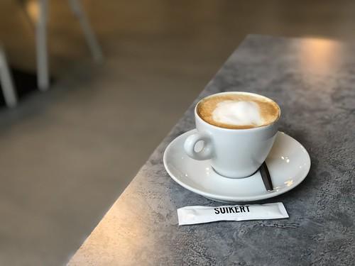Cappuccino op z'n Rotterdams