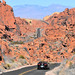Driving in the Valley of Fire State Park