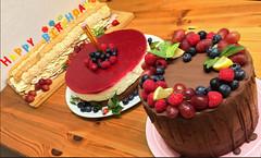 Kuchen und Torten (Mariandl48) Tags: kuchen torte geburtstag e