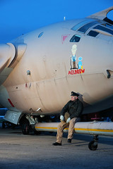 I Don't Believe It! (gooey_lewy) Tags: timeline events shoot charter bruntingthorpe jet aircraft raf royal air force navy aviation handley page victor tanker v plane bomber nuclear deterrent xm715 teasin tina meldrew grumpy pilot crew pose sitting dont believe it