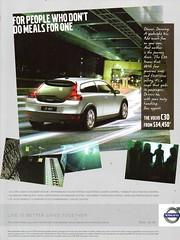 2008 Volvo C30 3 Door Hatchback Aussie Original Magazine Advertisement (Darren Marlow) Tags: 2 3 8 20 2008 v volvo c 30 c30 hatchback car cool collectible collectors classic a automobile vehicle s swiss sweden swedish e european europe 00s