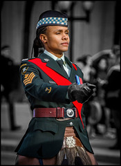 Toronto Scottish Regiment (Rodrick Dale) Tags: toronto scottish regiment ontario canada remembrance day soldier canadian forces