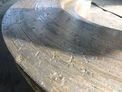 Resize of P1360902 (OpalStream) Tags: rudder marine vessel repair works overhauling workshop measurements filler gauge dirt