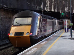 Arriva CrossCountry Class 43 43366 (Alex S. Transport Photography) Tags: outdoor vehicle birminghamnewstreet class43 arriva crosscountry db locomotive diesel intercity125 highspeedtrain hst 1v54 43366