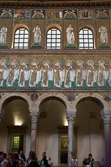 San'Apollinaire Nuovo (diocrio) Tags: italia ravena santapollinarenuovo bizantino mosaicos
