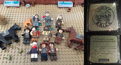Minifigs from The Frontier (Andrew Cookston) Tags: lego cowboys old wild west dc comics andrew cookston andrewcookston