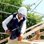 若手大工職人育成のための建築技術訓練校の写真