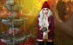 Autumn casts a spell and dying never was so beautiful. (Yuna.Styles) Tags: blueberry maitreya fashion bloggingsl catwahead love fashiowl theliaisoncollaborative runawayhair whimberly secondlife secondlifefashion secondlifeevents secondlifeposes