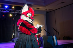 DSC08982 (Kory / Leo Nardo) Tags: pacanthro pawcon paw con pac anthro convention fur furry fursuit suiting mascot sona fursona san jose doubletree hotel california dance party deck animals costuming pupleo 2018