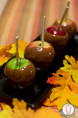 Caramel Chocolate Apples (twofoodies) Tags: yellow caramel apples fall treat kids