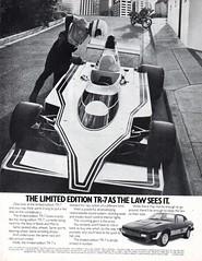 1980 Triumph TR-7 Limitied Edition Aussie Original Magazine Advertisement (Darren Marlow) Tags: 1 8 9 19 80 1980 t triumph tr r 7 tr7 c car cool collectible collectors classic a automobile v vehicle e english england b british britain 80s