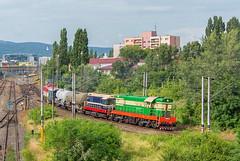 Požiarne retro | T669.1069 + T458.1141 | BA-Predmestie (lofofor) Tags: diesel čmelák čmeliak čme3 770 771 069 t669 t6691069 1069 hektor t458 1141 753 753109 okuliarnik retro nostalgia nostalgický hasiči požiarny rendez 2018 ba bratislava predmestie postrk duo locomotive railways rail sk sr svk slovensko slovakia čkd
