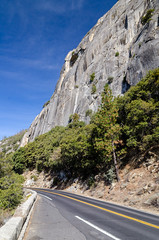 Granite on the way into the Valley (GmanViz) Tags: gmanviz color california nikon d7000 yosemite nationalpark sierranevada mountain granite road turnin