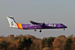 G-JEDR DHC-8Q 402 Flybe MAN 18-11-18 (PlanecrazyUK) Tags: egcc manchester ringway manchesterairport gjedr dhc8q402 flybe man 181118