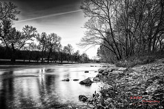 On the Bank (1300 Photography) Tags: nikon d750 affinity 20mm longexposure outdoors ozarks bennettspring missouri river water morning