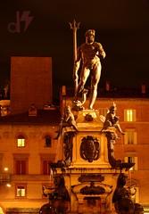 Neptune (dhirajkumarhazra) Tags: nikon night bologna italy europe longexposure city statue