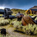 Abandoned Mining Equipment, Bodie, CA