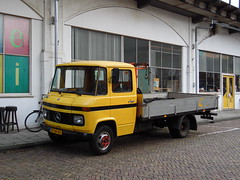 1973 Mercedes L406 D (brizeehenri) Tags: mercedes l406d 1973 6134hb rotterdam