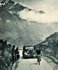 1936 TDF ROMAIN MAES One big year is not another (Sallanches 1964) Tags: romainmaes tourdefrance 1936 tourdefrancewinners belgiancyclists roadcycling mountainstage