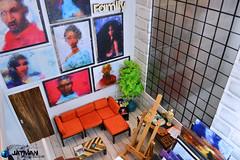 JATMAN - Tutorial City Loft Art Studio 10 (JATMANStories) Tags: 16scale 16 diorama doll dolls dollcollecting dollhouse diy fashionroyalty actionfigure barbie