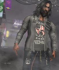 """Be groovy or leave, man!"" :D (Roy Mildor / RM ~ Art Of Poses ~ CEO) Tags: roymildor fotograf sl secondlife photographer man men male guy cool cosmopolitan mancave nomatch gashionnatic blog blogger"