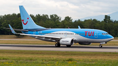 Boeing 737-7K5(WL) OO-JOS TUI Airlines Belgium (William Musculus) Tags: airport spotting plane aviation airplane basel mulhouse freiburg bsl mlh eap euroairport lfsb aeroport oojos tui airlines belgium boeing 7377k5wl jaf tb jetairfly 737700