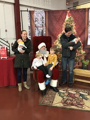 "Family with Santa • <a style=""font-size:0.8em;"" href=""http://www.flickr.com/photos/109120354@N07/45527267265/"" target=""_blank"">View on Flickr</a>"