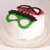 87 of Year 5 - Grandboys joint birthday cake underway (Hi, I'm Tim Large) Tags: cake birthday spiderman thehulk hulk childrens decorated decoration mask face fuji fujifilm xe1 1855mm 365 87