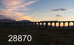 robfrance5d2_28870_151018_x1533xx_x158xxx_ribblehead_viaduct_2h94_nt_edr16lr6pse15coefx4weblowres (RF_1) Tags: 153 158 2018 arriva battymoss brel britain britishrailengineering britishrailengineeringltd class153 class158 cummins cumminsnt855r5 dales db deutschebahn dieselmultipleunit dmu dusk england franchise leylandbus localtrain localtrains metrocammel northern northernengland northernrail passengertrain publictransport rail railroad rails railway railwayviaduct railways ribblehead ribbleheadviaduct rural sc settlecarlisle settletocarlisle silhouette silhouettes sprinter stoppingtrain stoppingtrains sunset sunsets train trains transport travel traveling uk viaduct yorkshire