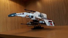 E-Wing - Build Update (Moppo!) Tags: ewing rebel alliance new republic star wars lego