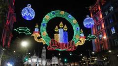 Navidad en el Zócalo (laap mx) Tags: mexico mexicocity ciudaddemexico navidad zocalo catedral cathedral noche nocturna night luces lights christmas 169