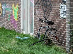 Abandoned ... (N3628) (Le Photiste) Tags: clay abandoned bicycle demolished junk neglected oddvehicle oddtransport perfectview nikoncoolpixs9900 nikon leftalone simplyblue heerenveenthenetherlands thenetherlands nederland afeastformyeyes aphotographersview autofocus artisticimpressions alltypesoftransport blinkagain beautifulcapture bestpeople'schoice creativeimpuls cazadoresdeimágenes digifotopro damncoolphotographers digitalcreations django'smaster friendsforever finegold fairplay greatphotographers groupecharlie peacetookovermyheart clapclap hairygitselite ineffable infinitexposure iqimagequality interesting inmyeyes livingwithmultiplesclerosisms lovelyflickr lovelyshot myfriendspictures mastersofcreativephotography niceasitgets photographers prophoto photographicworld planetearthbackintheday planetearthtransport photomix soe simplysuperb showcaseimages simplythebest simplybecause thebestshot thepitstopshop transportofallkinds theredgroup thelooklevel1red vividstriking mostrelevant mostinteresting wow wheelsanythingthatrolls worldofdetails yourbestoftoday great awesome greatride