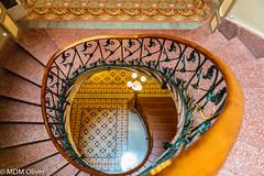 Escalera Ca'n Prunera - Sóller (mdm.oliver.buades) Tags: maria escalera modernismo soller mallorca arquitectura