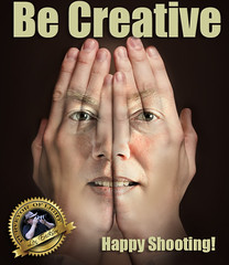 Be Creative (Len Erickson) Tags: becreative hands composite meme creativity