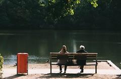 (Šarbel) Tags: film fujicolor c200 pentax espio140 analog hamburg park lake germany