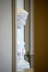 Next Room Over (dayman1776) Tags: sony a6000 telephoto lens helen troy greek war beautiful woman girl nude neoclassical classical sculpture statue sculptor sculptures skulptur escultura marble myth mythology mythological trojan gibbes art museum charleston south carolina
