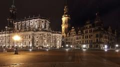 Theaterplatz Dresden (_dankhn) Tags: dresden germany night nigthlights sachsen saxony nightshot lights city