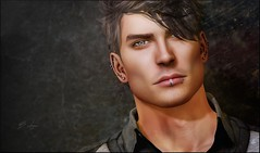 I Got Mine (Broderick Logan) Tags: secondlife second 2nd life 2ndlife avi avatar virtual vr inworld 3d bento mesh music brodericklogan broderick logan photography portrait headshot photo male man