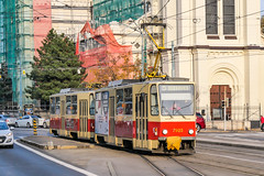BTS_7923_201811 (Tram Photos) Tags: ckd tatra t6a5 bratislava dopravnýpodnikbratislava dpb strasenbahn tram tramway električková mhd električka