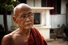 A Venerable Burmese Monk (El-Branden Brazil) Tags: myanmar burma burmese monks buddhism buddhist southeastasia asian asia bagan temples happyplanet asiafavorites