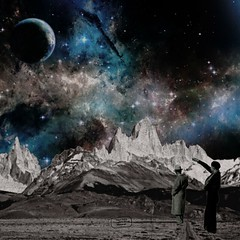LOOK THIS (touchistone) Tags: collage design banner universe 80s galaxy graphicdesign