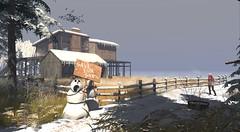 Winter on Binemust