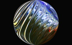 twisted planet (HansHolt) Tags: glass ball orb planet twisted lines abstract macro canoneos6d canonef100mmf28macrousm macromondays picktwo hmm