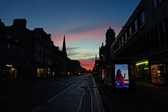 DSC09678 (LezFoto) Tags: sonydigitalcompactcamera rx100iii rx100m3 sony dscrx100m3 cybershot sonyimaging sonyrx100m3 compactcamera pointandshoot sunset redsky unionstreet aberdeen scotland unitedkingdom