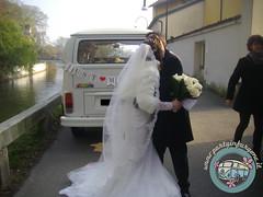 Gli sposi! (partyinfurgone) Tags: addiocelibato addionubilato affitto epoca furgone hippie limousine matrimonio milano noleggio nozze photobooth pulmino sposi storico t2 vintage volkswagen vw wedding